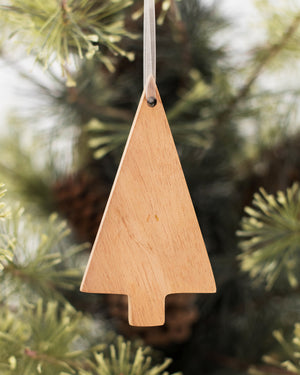 Wood Tree Ornament