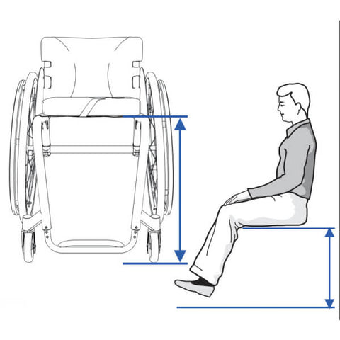 Front Seat Height Wheelchair Measurement Guide