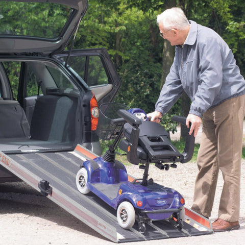 Invacare EBL Portable Commercial Ramp Lifestyle Image