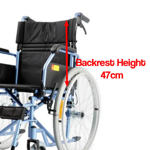 PA202 Backrest for Tall Users