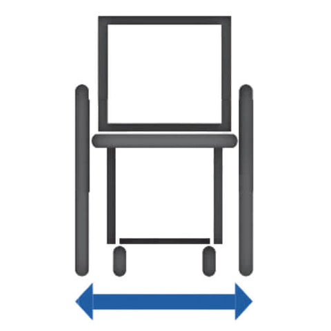 Total Width of Wheelchair