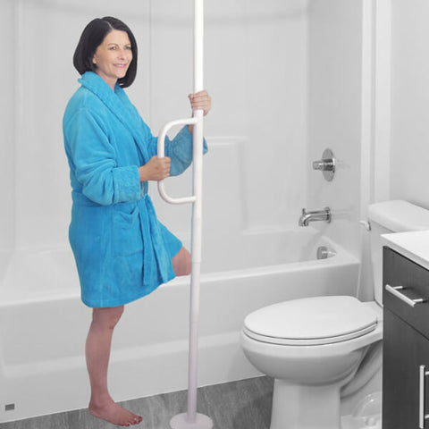 ABLELIFE Universal Floor to Ceiling Grab Bar