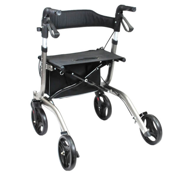 BETTERLIVING Euro Compact Foldable Outdoors Walker BL0062 View from the Back