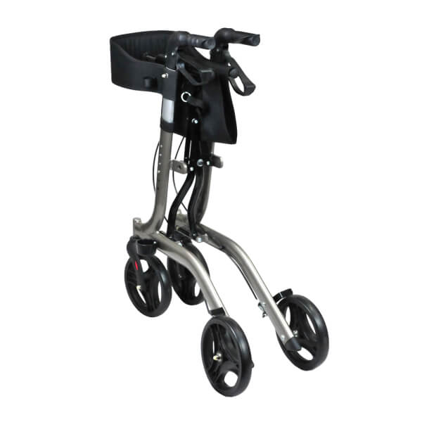 BETTERLIVING Euro Compact Foldable Outdoors Walker BL0062 Folded into Compact Form