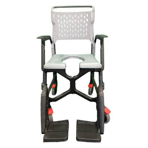 Carequip Bathmobile Folding Shower Commode AE1610 Front View