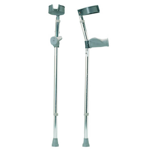 DAYS Ergonomic Grip Forearm Crutches