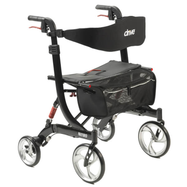 DRIVE Nitro Heavy Duty Bariatric Outdoor Walker 204kg