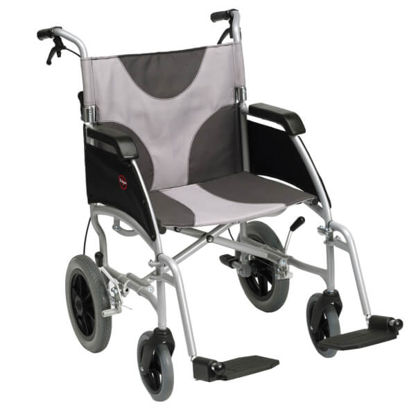 DRIVE Ultra Lightweight Portable Transport Wheelchair
