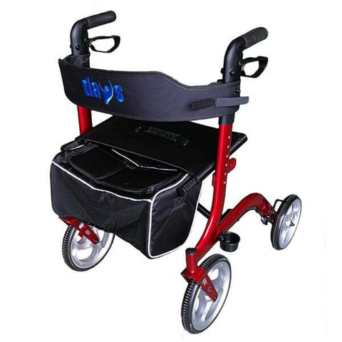 Days-Deluxe-Rollator-Red-(HCT-9137DR)