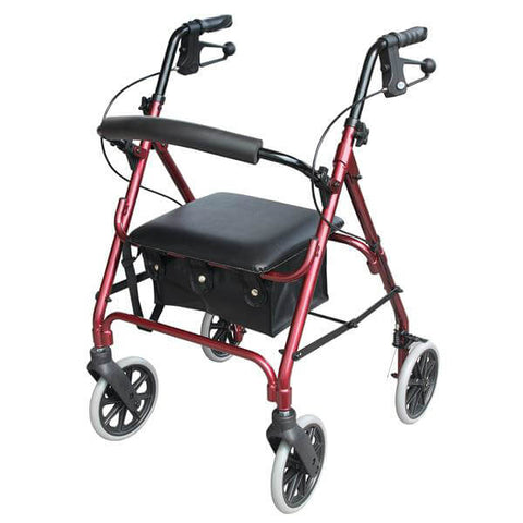 Days 105 Rollator Red