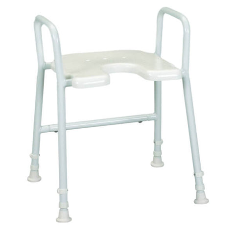 Days Aluminium Shower Stool with Arms