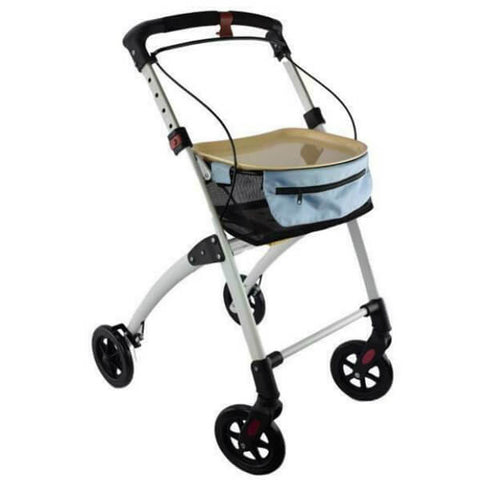 DAYS Breeze Lightweight Indoor Walker with Trolley Bag and Tray