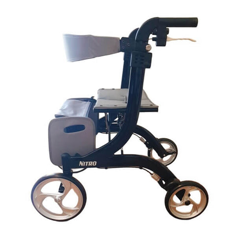 Drive Nitro Rollator Side View