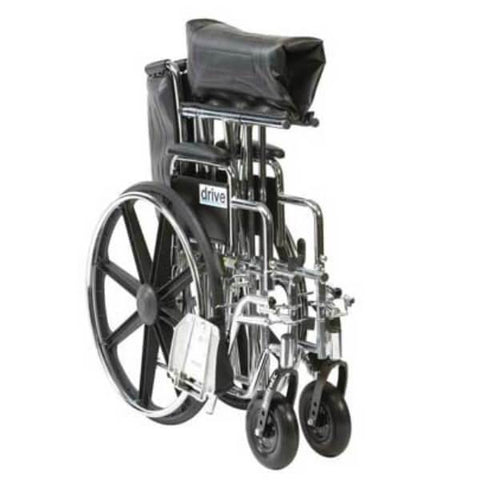 DRIVE Sentra Wheelchair Folded Up