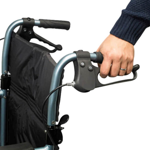 ESCAPE Standard Transit Attendant Propelled Wheelchair