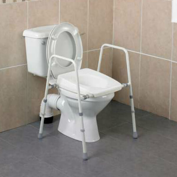HOMECRAFT Stirling Over Toilet Frame Adjustable Width