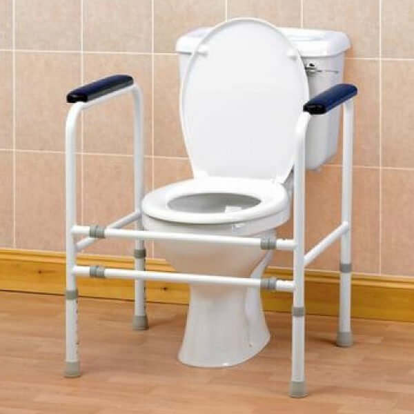 Homecraft Adjustable Height and Width Toilet Lifestyle
