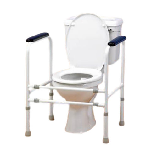 Homecraft Adjustable Height and Width Toilet White Background