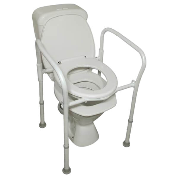 Homecraft Aluminium Folding Over Toilet Aid