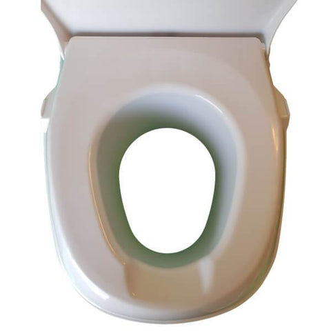Homecraft Raised Toilet Seat Top View