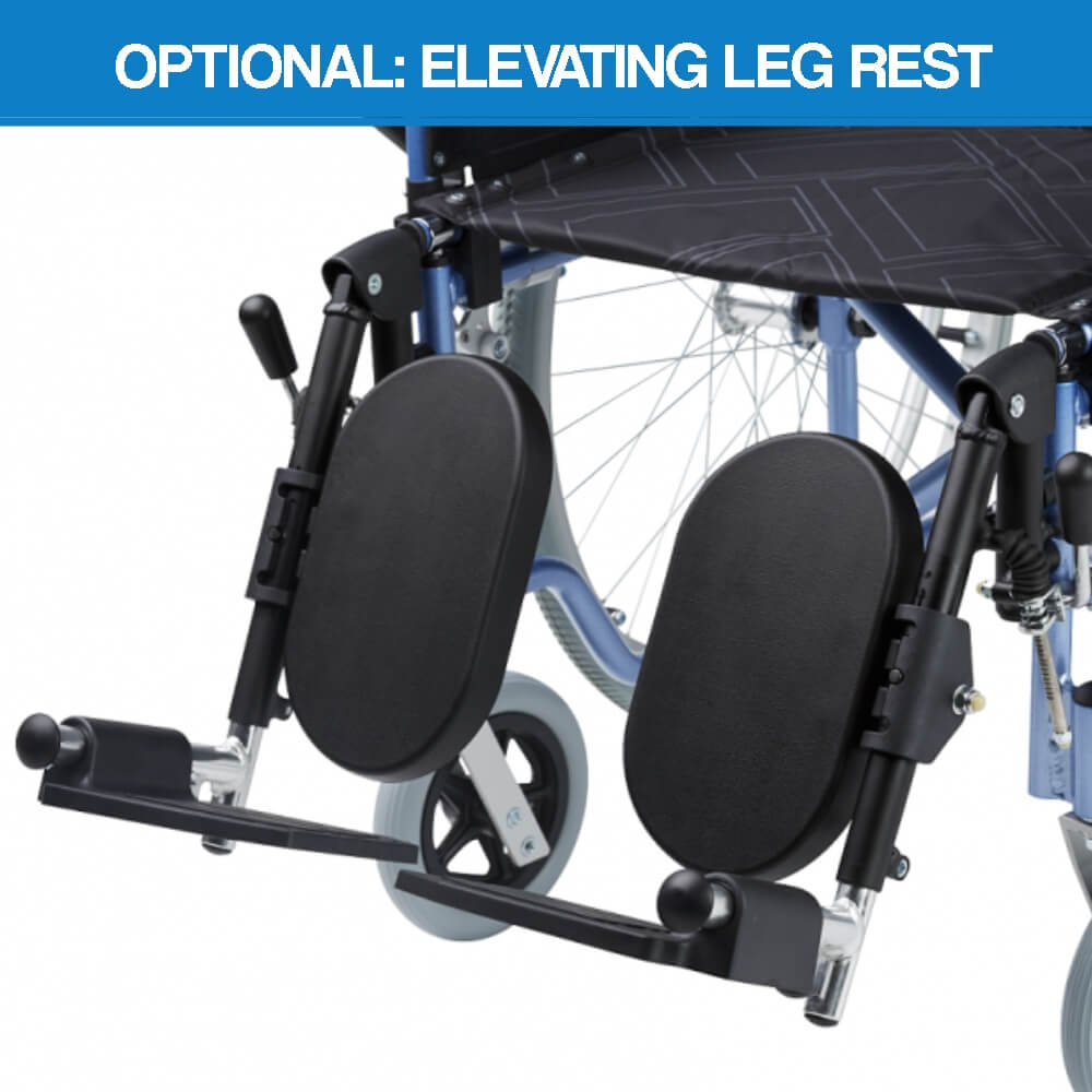Maxmobility Omega Wheelchair Elevating Leg Rests 63006