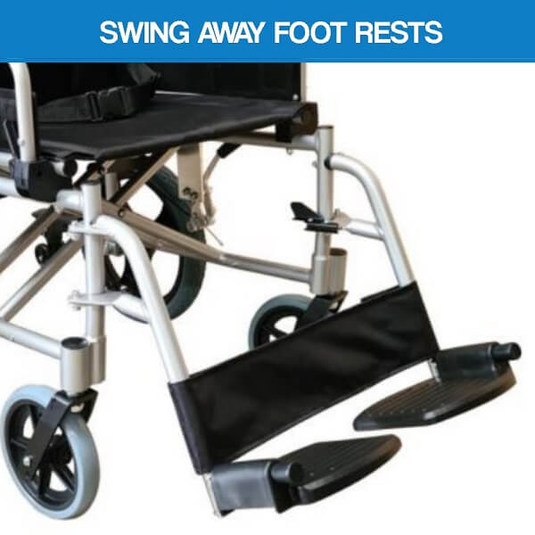 PA222 Swing Away Footrests
