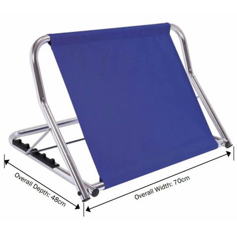 PQUIP Backrest for Bed Adjustable RBE101 Measurements