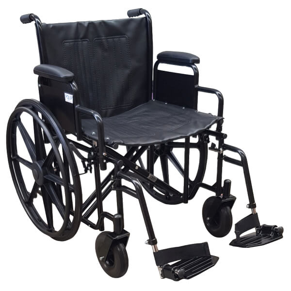 PQUIP Bariatric 22 Inch Wheelchair PA192