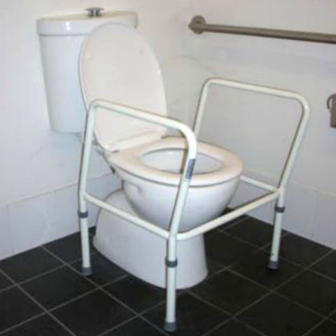 PQUIP Steel Toilet Surround Frame Adjustable PQ103 Lifestyle
