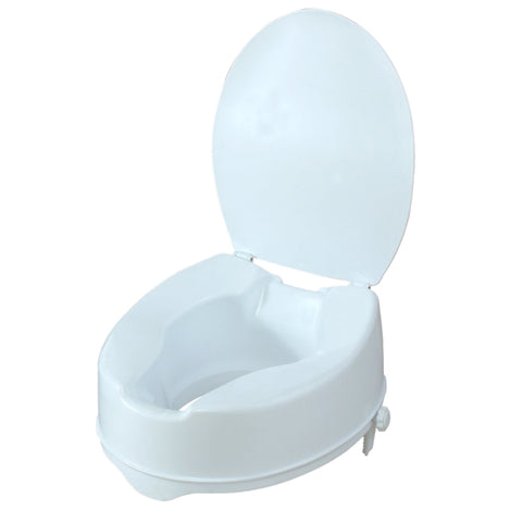 PQUIP Lightweight Ergonomic Raised Toilet Seat