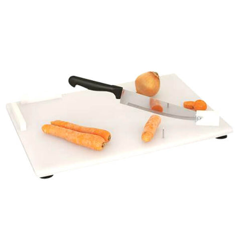 Parsons Combination Cutting Board 16x12 Inch with Chef's Knife