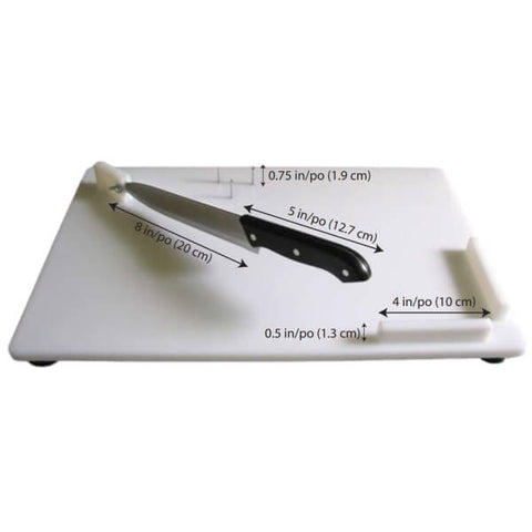Parsons Combination Cutting Board Dimensions
