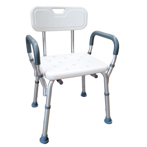 RBN206_01 Aluminiium Bath Seat with Back and Arms 600x600