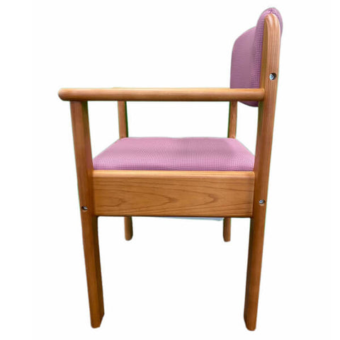Royale Bedside Commode Chair Side View