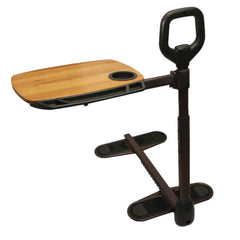 STANDER Assist-A-Tray Swivel Tray Bamboo Table and Stand Assist