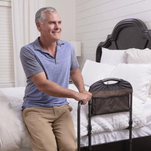 STANDER Pivoting Height Adjustable Mobility Bedside Rail