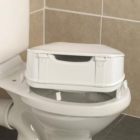 HOMECRAFT Savanah Raised Toilet Seat 100mm