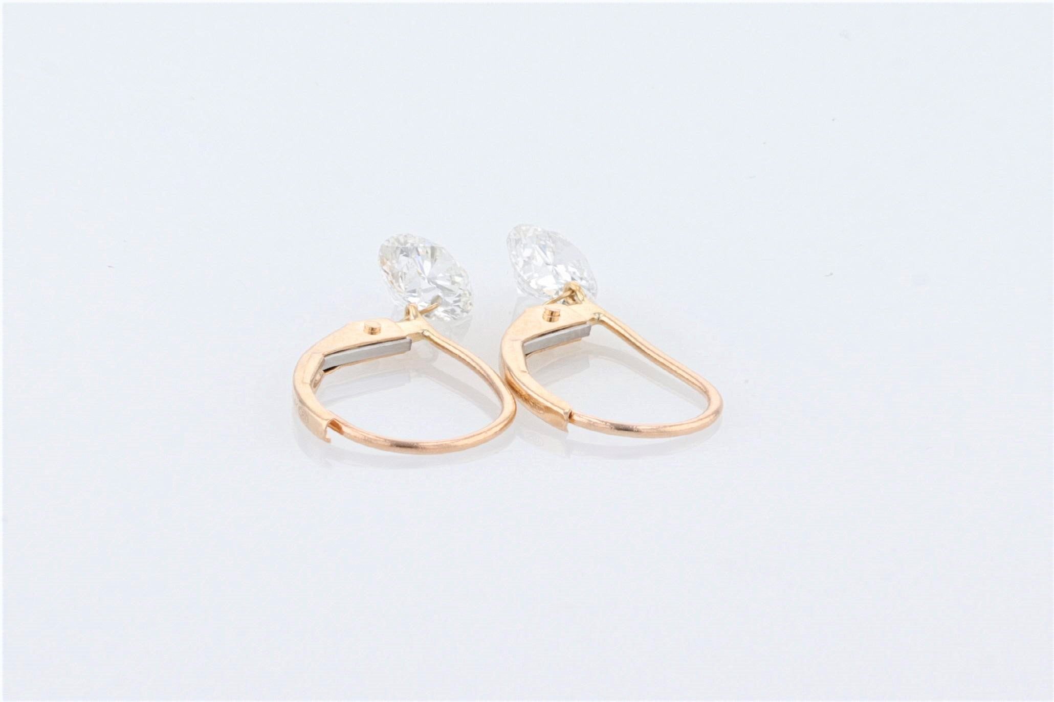 14K Women's Yellow Gold (Stamped) Dress Drop Earrings