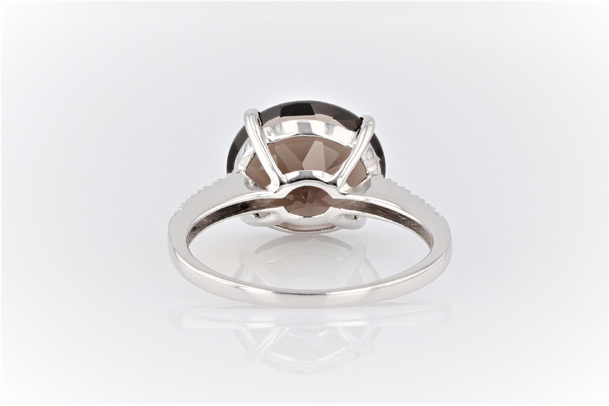 14K Women's White Gold (Stamped) Shank Dress Ring