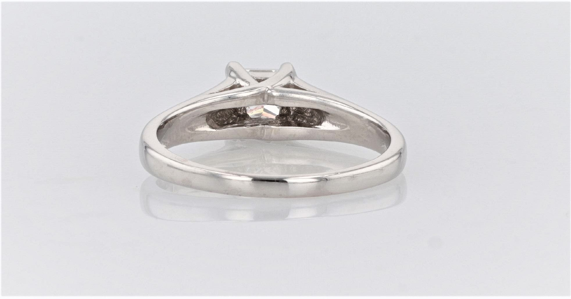14K Women's White Gold (stamped) Shank Dress/Engagement Ring