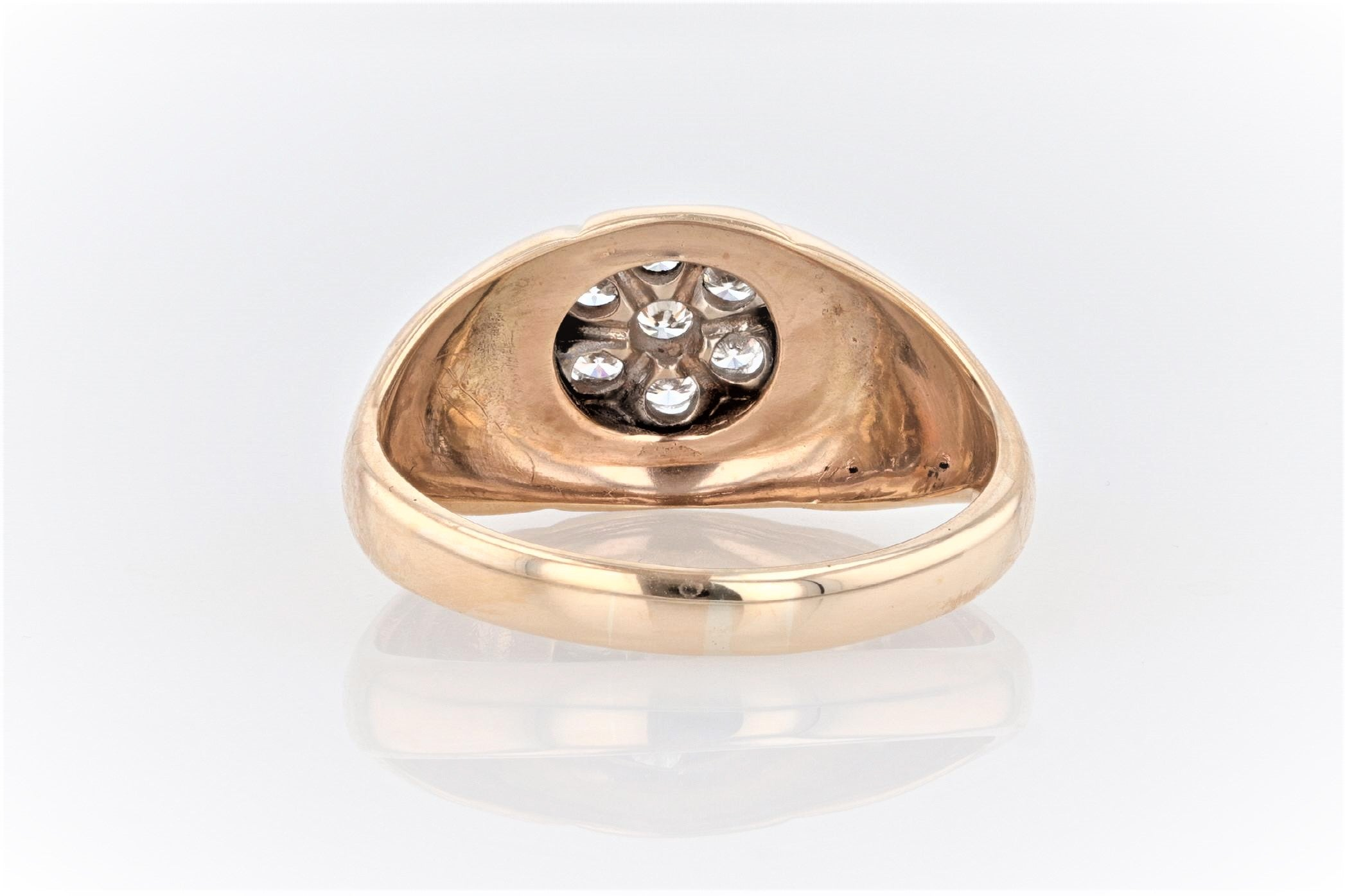10K Men's Yellow Gold (Stamped) Dress Ring