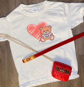 with love Moschino tee