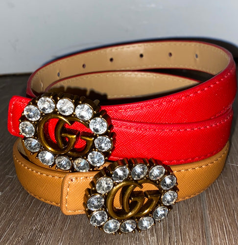 Gucci bling belt