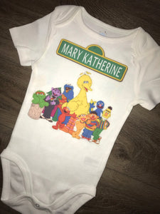 Sesame Street customized