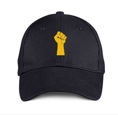 BLACK FIST DAD HAT