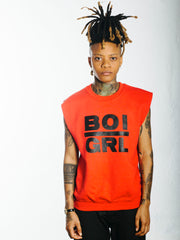 BOI | GRL SLEEVELESS SWEATER