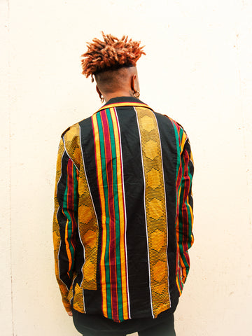 KENTE MOTORCYCLE JACKET