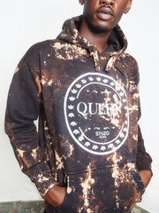 QUEEN HOODIE-DYED