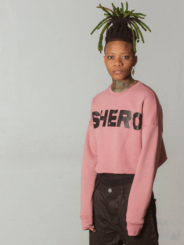 SHERO CROP SWEATER