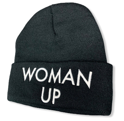 WOMAN UP BEANIE-2